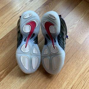 Nike Shoes - Nike Little Posite One Rush Pink/Neptune Blue 11 C